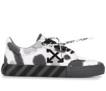 'Vulcanized' Sneakers mit Batikmuster