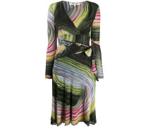 'Natalie' Kleid mit grafischem Print
