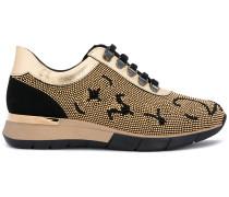 stud embellished sneakers