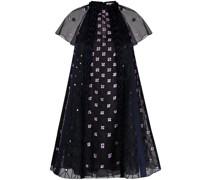 Pixie Kleid mit Blumenstickerei