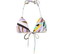 Bikini mit abstraktem Print