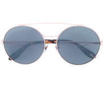 Sonnenbrille mit Doppelsteg - women - Metall