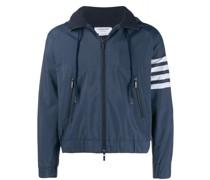 stripe detail hoodie