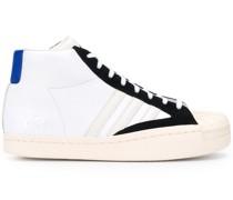 High-Top-Sneakers mit Kontrastdetail