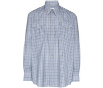 Ranch checked buttoned shirt