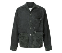 Jacke mit Distressed-Optik
