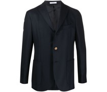 single-breasted fitted blazer