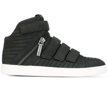 High-Top-Sneakers mit Reißverschlussdetail