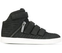 velcro hi-top sneakers