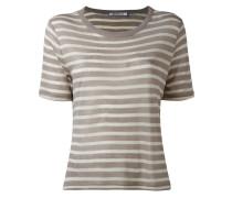 - Gestreiftes T-Shirt - women