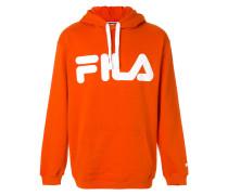 logo print hoodie - Unavailable
