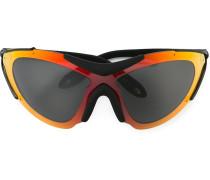 Skibrille mit Farbverlauf