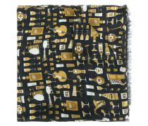 jazz club print scarf