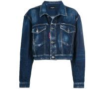 Be Nice cropped denim jacket