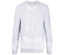 Pullover mit Intarsienmuster