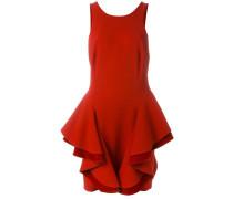 Gestuftes Kleid mit Volants