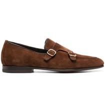 Monk-Schuhe aus Wildleder