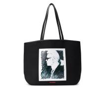 'Karl' Shopper mit Profil-Print