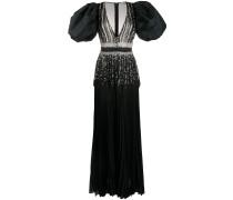 Langes Kleid mit Kristallen