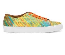 - Bestickte Sneakers mit Schnürung - men