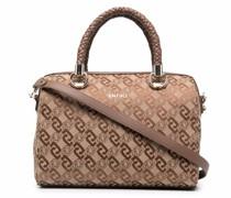 Handtasche mit Monogramm