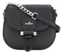 chain detail crossbody bag - women - Kalbsleder