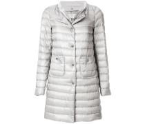 layered down coat