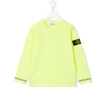 - Sweatshirt mit Logo-Patch - kids - Baumwolle