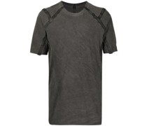 T-Shirt mit Besatzstreifen