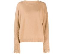 Pullover mit verzierten Ärmeln