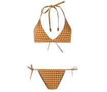 Karierter Bikini