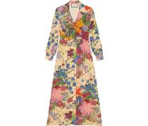 Ken Scott Kleid mit floralem Print
