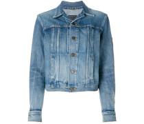 original YSL military patch jean jacket
