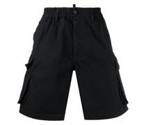 Cargo-Shorts mit Knopfverschluss