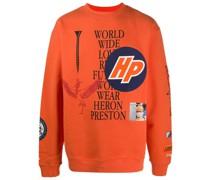 """Sweatshirt mit """"Work Wear""""-Print"""