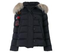 tassel detail puffer jacket