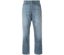 Cropped-Jeans - women - Baumwolle/Leinen/Flachs