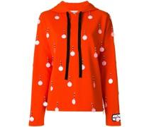 sequin embellished hoodie