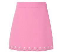 embellished a-line skirt