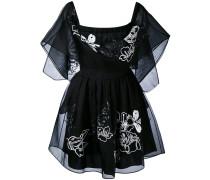 - Florales Kleid mit Stickerei - women