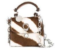 zebra pattern crossbody bag