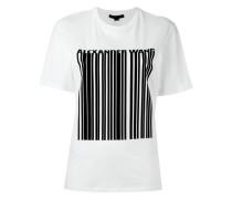 - T-Shirt mit Barcode-Print - women - Baumwolle