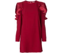 P.A.R.O.S.H. Schulterfreies Kleid mit gerüschten Details