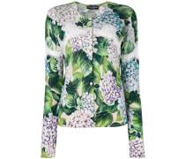 Cardigan mit floralem Print