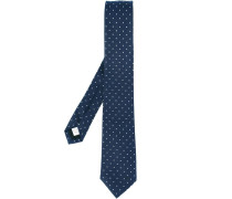 Gepunktete Krawatte - men - Seide