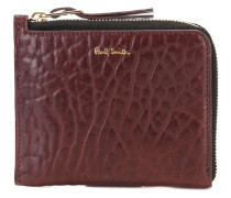 alligator effect zipped wallet