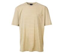 Gestreiftes T-Shirt mit Tasche
