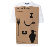 "T-Shirt mit ""The Hard Life""-Print"