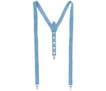 Jeans-Hosenträger mit Nieten