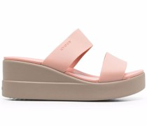 Slip-On-Sneakers mit Plateau